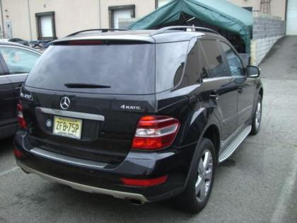 Export used 2010 mercedes benz ml350 4matic black on beige for Mercedes benz ml350 4matic 2010