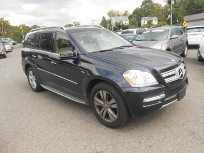 2012 MERCEDES BENZ GL350 BLUETEC 4MATIC - BLUE ON BEIGE 1