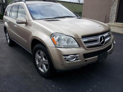 2007 MERCEDES BENZ GL450 4MATIC - GOLD ON BEIGE