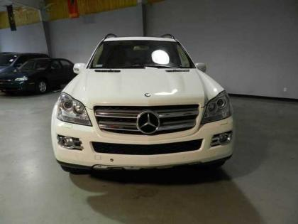 2007 MERCEDES BENZ GL450 4MATIC - WHITE ON BEIGE