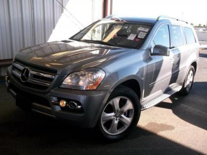 2011 MERCEDES BENZ GL450 4MATIC - GRAY ON BLACK