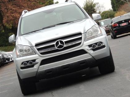 2011 MERCEDES BENZ GL450 4MATIC - SILVER ON BLACK