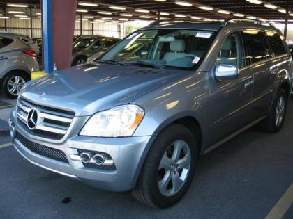 2010 MERCEDES BENZ GL450 4MATIC - GRAY ON GRAY