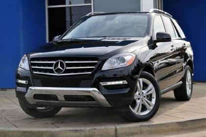 Export Used 2012 MERCEDES BENZ ML350 W4 - BLACK ON BEIGE