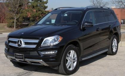 Export Used 2013 Mercedes Benz Gl450 4matic Black On Black
