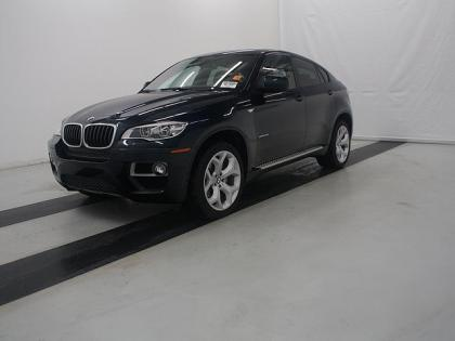 2014 BMW X6 XDRIVE35I - BLUE ON ORANGE