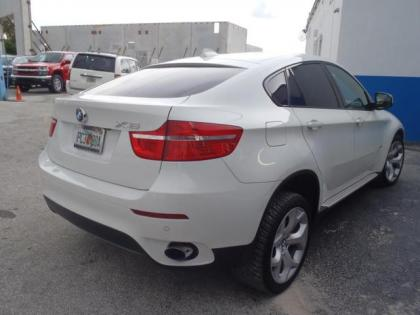 Export Used 2011 Bmw X6 Xdrive35i White On Red