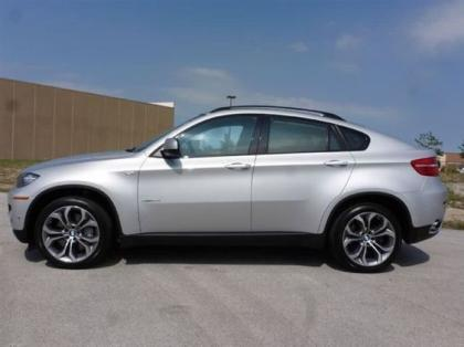 Export Used 2011 Bmw X6 Xdrive50i Silver On Red