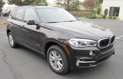 2015 BMW X5 XDRIVE35I - BROWN ON BROWN