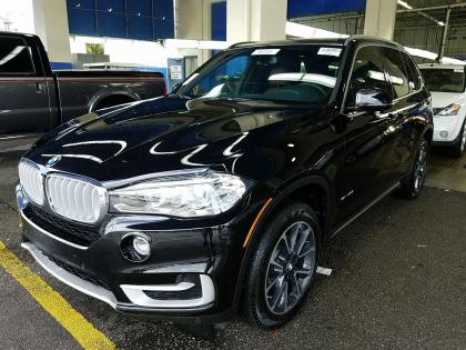 2017 BMW X5 SDRIVE35I - BLACK ON BROWN