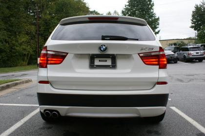 Export Used 2012 Bmw X3 Xdrive35i White On Black