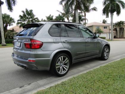 Export Used 2013 Bmw X5 M Gray On Red