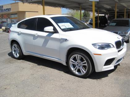 2013 BMW X6 M - WHITE ON BLACK
