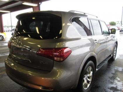 Export Used 2013 Infiniti Qx56 Base Gray On Beige