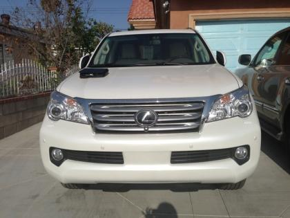 2013 LEXUS GX460 PREMIUM - WHITE ON BEIGE