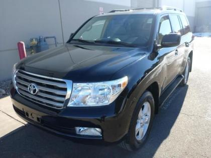 2009 TOYOTA LAND CRUISER BASE - BLACK ON BEIGE