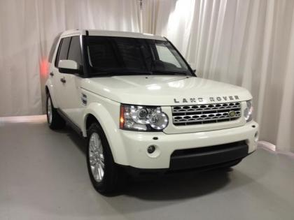 2010 LAND ROVER LR4 HSE - WHITE ON BLACK