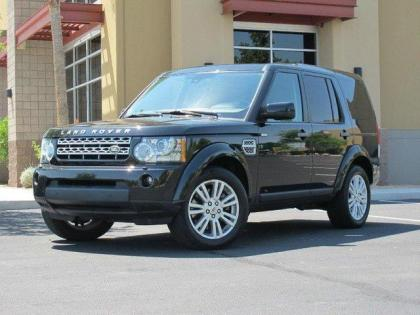 2010 LAND ROVER LR4 BASE - BLACK ON BLACK 1