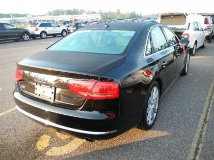 export used 2013 audi a8 base black on black