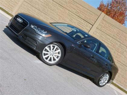 2012 AUDI A6 3.0T QUATTRO - GRAY ON BROWN