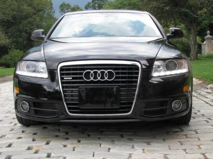 export used 2011 audi a6 30t white on black