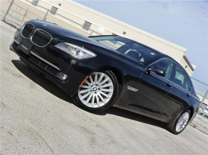 2012 BMW 750LI XDRIVE - BLACK ON BLACK