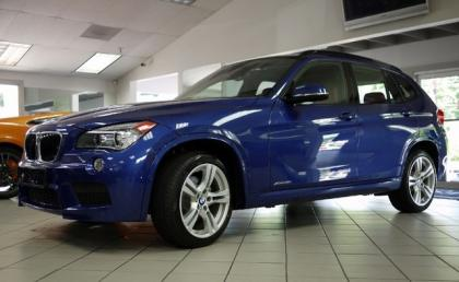 Export Used 2013 Bmw X1 Xdrive28i Blue On Red