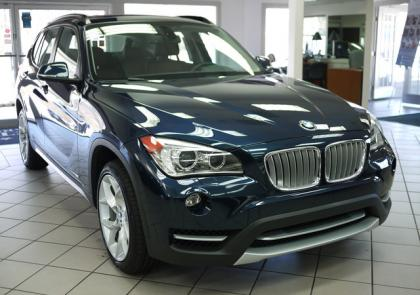 2013 BMW X1 XDRIVE35I - BLACK ON BROWN 2
