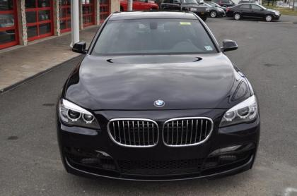 Export Used 2013 Bmw 750li Xdrive Black On Black