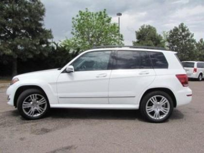 2013 MERCEDES BENZ GLK350 4MATIC - WHITE ON BLACK