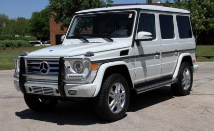 2013 MERCEDES BENZ G550 4MATIC - WHITE ON BLACK