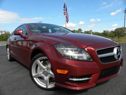 2013 MERCEDES BENZ CLS550 SPORT - RED ON BEIGE