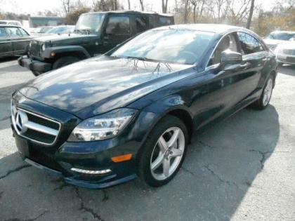 2013 MERCEDES BENZ CLS550 BASE - BLUE ON TAN