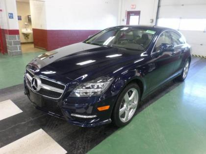 2014 MERCEDES BENZ CLS550 4MATIC - BLUE ON BEIGE