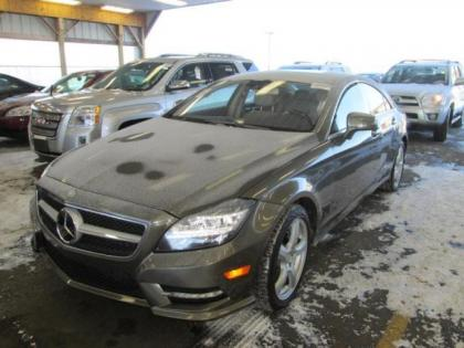 2013 MERCEDES BENZ CLS550 4MATIC - GRAY ON CREAM