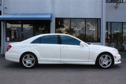 Export Used 2013 Mercedes Benz S550 Base White On Black