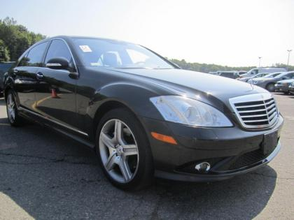 2007 MERCEDES BENZ S550 4MATIC - BLACK ON BLACK
