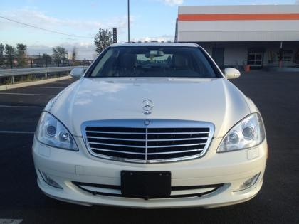 2007 MERCEDES BENZ S550 4MATIC - WHITE ON BLACK 3