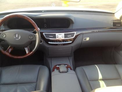 2007 MERCEDES BENZ S550 4MATIC - WHITE ON BLACK 7