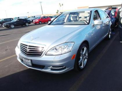 2012 MERCEDES BENZ S350 BLUETECH - SILVER ON GRAY