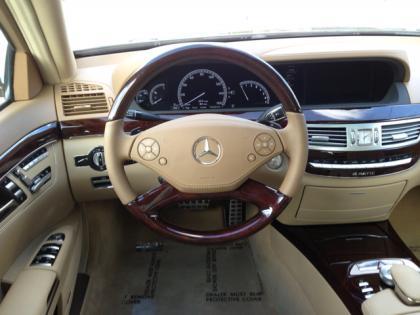 Export Used 2013 Mercedes Benz S550 4matic Black On Beige