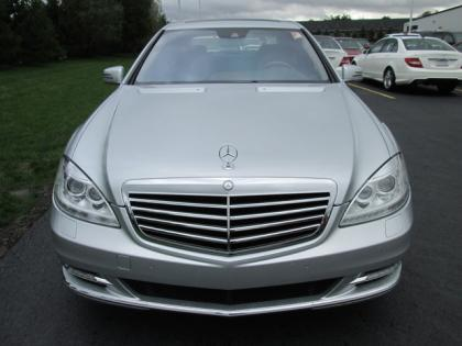 2012 MERCEDES BENZ S550 4MATIC - SILVER ON BLACK