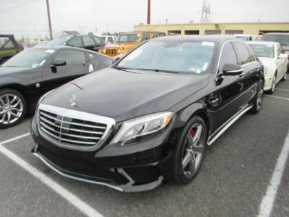 2015 MERCEDES BENZ S63 AMG - BLACK ON BEIGE