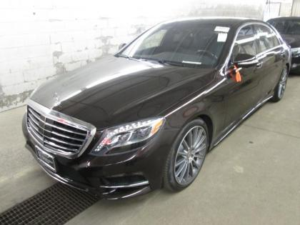 2015 MERCEDES BENZ S550 4MATIC - BLACK ON BLACK