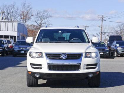 2009 VW TOUAREG 3.0TDI - WHITE ON BLACK
